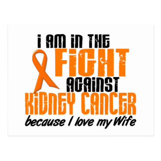 KIDNEY CANCER In The Fight For My Wife 1 Postcard