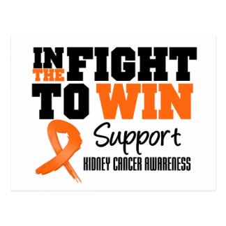 Kidney Cancer In The Fight To Win Postcard
