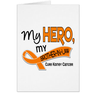 Kidney Cancer MY HERO MY BROTHER-IN-LAW 42 Cards