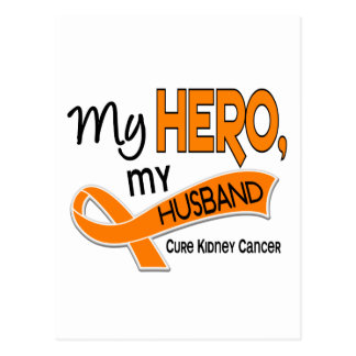 Kidney Cancer MY HERO MY HUSBAND 42 Post Cards