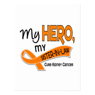 Kidney Cancer MY HERO MY SISTER-IN-LAW 42 Postcard