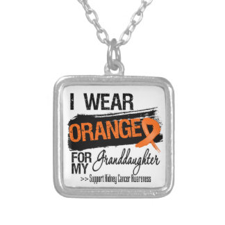 Kidney Cancer Ribbon Granddaughter Jewelry