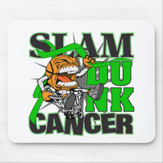 Kidney Cancer - Slam Dunk Cancer Mouse Pad