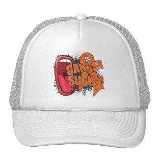 Kidney Cancer Sucks Scream It Trucker Hat