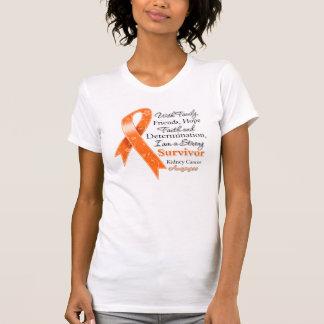 Kidney Cancer Support Strong Survivor 2 T-Shirt
