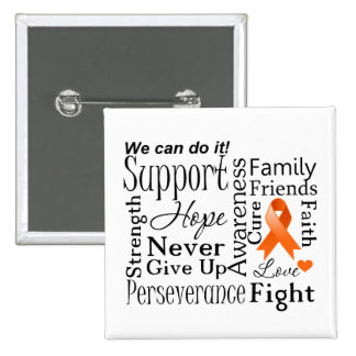 Kidney Cancer Supportive Words Pin