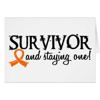 Kidney Cancer Survivor 18 Greeting Cards