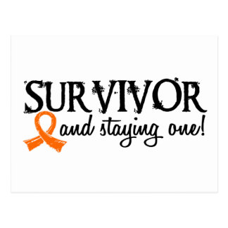 Kidney Cancer Survivor 18 Postcard