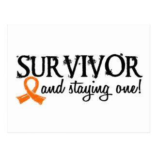 Kidney Cancer Survivor 18 Post Card