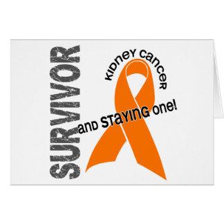 KIDNEY CANCER Survivor 1 Card