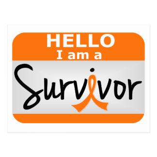 Kidney Cancer Survivor 24.png Postcard