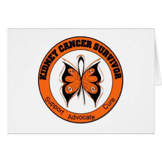 Kidney Cancer Survivor Butterfly Cards