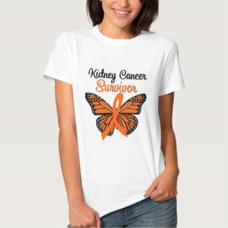 Kidney Cancer SURVIVOR Butterfly Tshirt