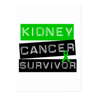 Kidney Cancer Survivor Green Ribbon Postcards