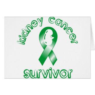 Kidney Cancer Survivor Greeting Card