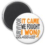 Kidney Cancer Survivor It Came We Fought I Won
