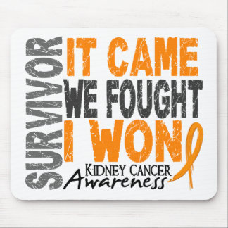 Kidney Cancer Survivor It Came We Fought I Won Mouse Pad