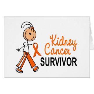 Kidney Cancer Survivor SFT Greeting Cards