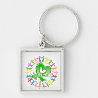 Kidney Cancer Unite in Awareness Key Chain