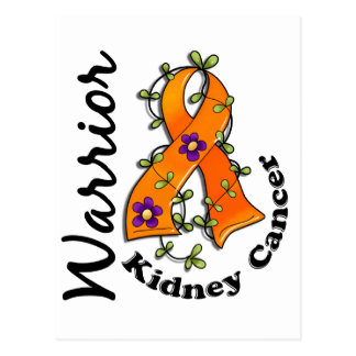 Kidney Cancer Warrior 15 Postcard