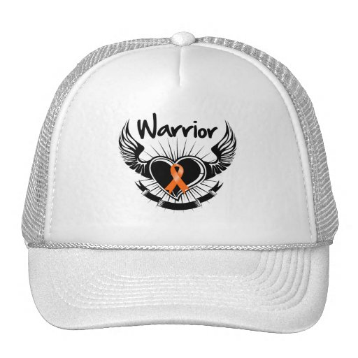 Kidney Cancer Warrior Fighter Wings Hats