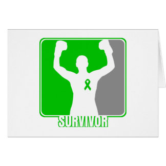 Kidney Cancer Winning Survivor Greeting Card