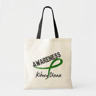 Kidney Disease Awareness 3 Budget Tote Bag