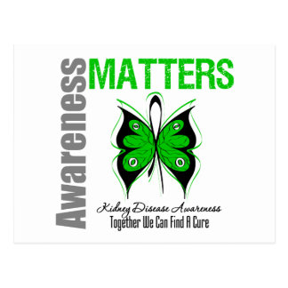 Kidney Disease Awareness Matters Postcard