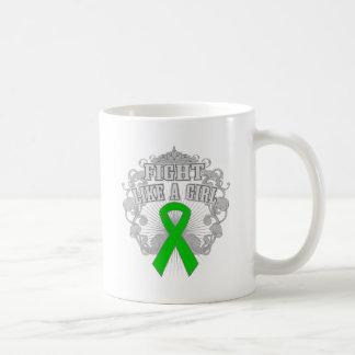 Kidney Disease Fight Like A Girl Fleurish Mug