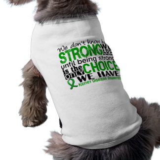 Kidney Disease How Strong We Are Shirt