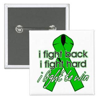 Kidney Disease I Fight Back Pin