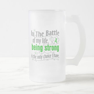 Kidney Disease In The Battle Frosted Glass Mug