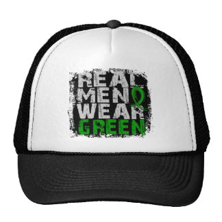 Kidney Disease Real Men Wear Green Trucker Hat