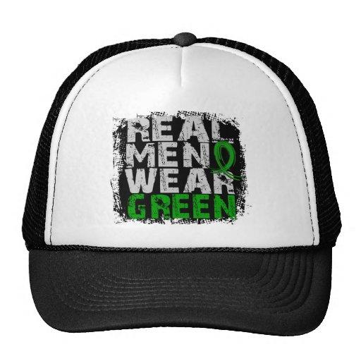 Kidney Disease Real Men Wear Green Trucker Hats