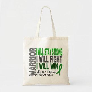 Kidney Disease Warrior Tote Bags