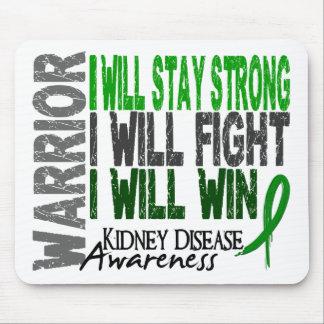 Kidney Disease Warrior Mousepads
