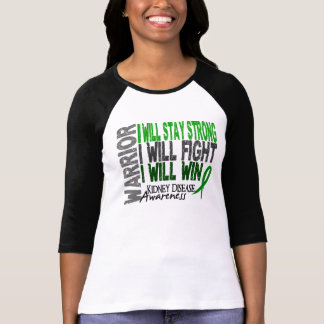 Kidney Disease Warrior T-shirts