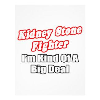 Kidney Stone Fighter...Big Deal 21.5 Cm X 28 Cm Flyer