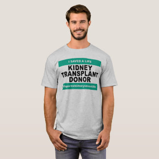 Kidney Transplant Donor - Light Shirt