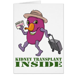 Kidney Transplant Inside Card