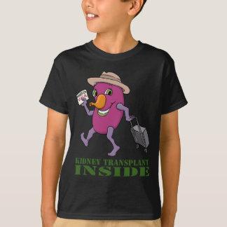 Kidney Transplant Inside T-Shirt