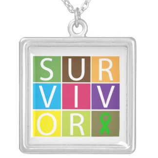 Kidney Transplant Survivor Colorful Tiles Jewelry