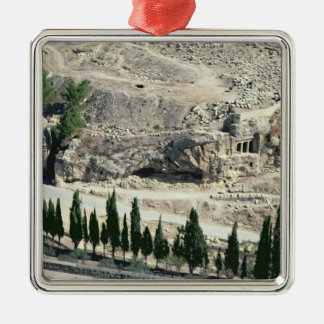 Kidron Valley at the foot of the Mount of Olives Christmas Ornament