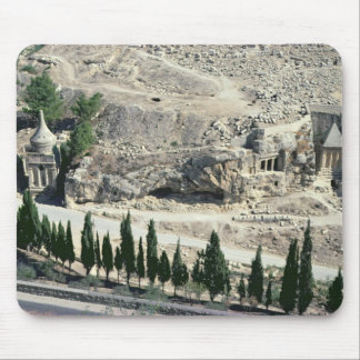 Kidron Valley at the foot of the Mount of Olives Mouse Mat