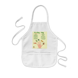 Kids 5 a day Veg apron