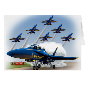 kids airshow birthday card or invite