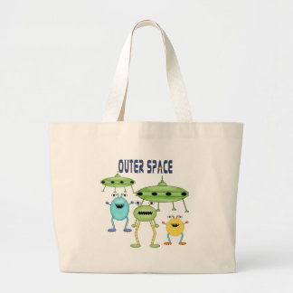 Kids Alien Outer Space Tote Bag