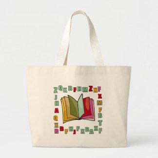 Kids Alphabet Tote Bag