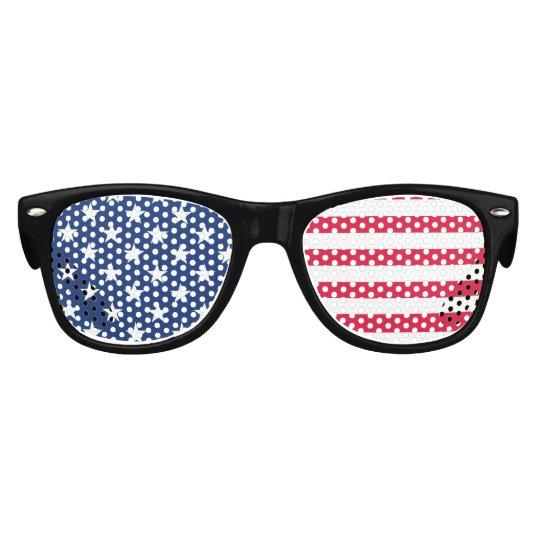 52055bbbd21 Kids American Flag Patriotic Stars and Stripes USA Kids Sunglasses ...