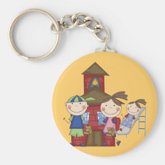 Kids and Schoolhouse T-shirts and Gifts Key Chain